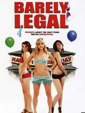 Barely Legal - DVD cover (thumbnail)