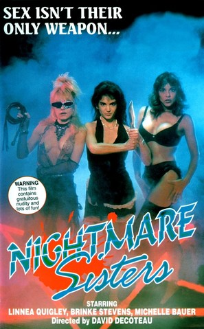 Nightmare Sisters - Movie Poster (thumbnail)
