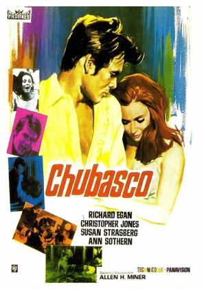Chubasco - Spanish Movie Poster (thumbnail)