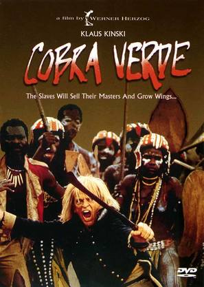 Cobra Verde - DVD cover (thumbnail)