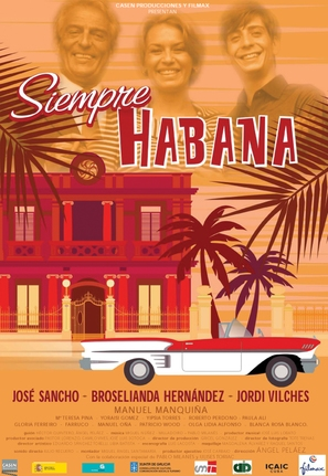 Siempre Habana - Spanish Movie Poster (thumbnail)