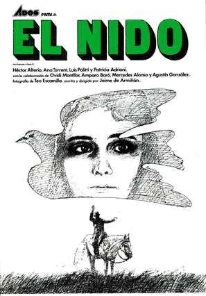 Nido, El - Spanish Movie Poster (thumbnail)