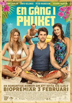 En gång i Phuket - Swedish Movie Poster (thumbnail)