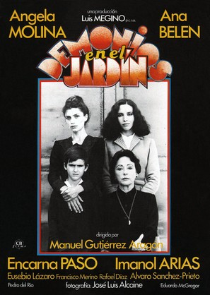 Demonios en el jardín - Spanish Movie Poster (thumbnail)