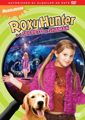 Roxy Hunter and the Secret of the Shaman - Spanish Movie Cover (thumbnail)