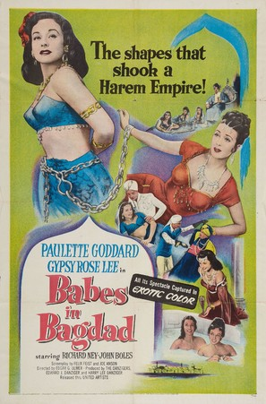 Babes in Bagdad - Movie Poster (thumbnail)