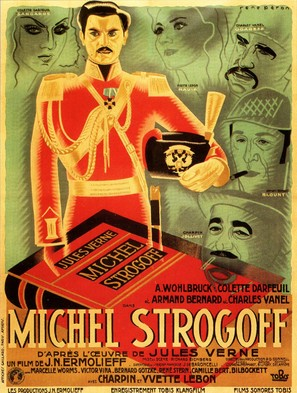 Michel Strogoff - French Movie Poster (thumbnail)