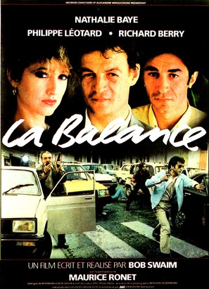 La balance - French Movie Poster (thumbnail)