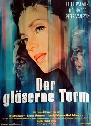Der gläserne Turm - German Movie Poster (thumbnail)