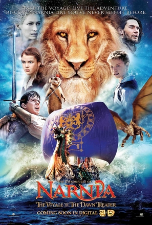 The Chronicles of Narnia: The Voyage of the Dawn Treader - Movie Poster (thumbnail)