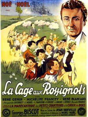 La cage aux rossignols - French Movie Poster (thumbnail)