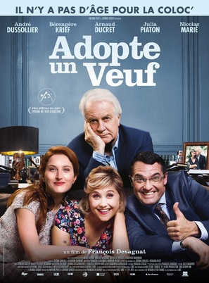 Adopte un veuf - French Movie Poster (thumbnail)