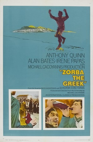 Alexis Zorbas - Theatrical movie poster (thumbnail)