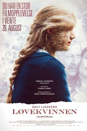 Løvekvinnen - Norwegian Movie Poster (thumbnail)