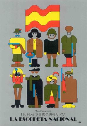 La escopeta nacional - Spanish Movie Poster (thumbnail)