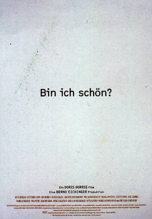 ¿Bin ich schön? - German Movie Poster (thumbnail)