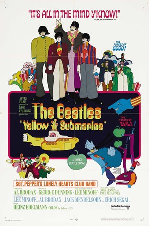 Yellow Submarine - Movie Poster (thumbnail)