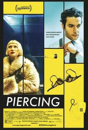 Piercing - Movie Poster (thumbnail)