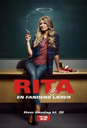 """Rita"" - Danish Movie Poster (thumbnail)"