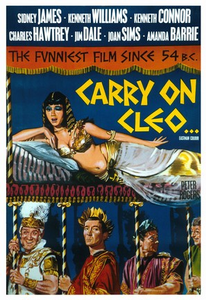 Carry on Cleo - British Movie Poster (thumbnail)