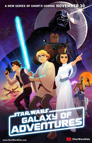 """Star Wars Galaxy of Adventures"" - Movie Poster (thumbnail)"
