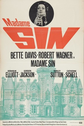 Madame Sin - British Movie Poster (thumbnail)