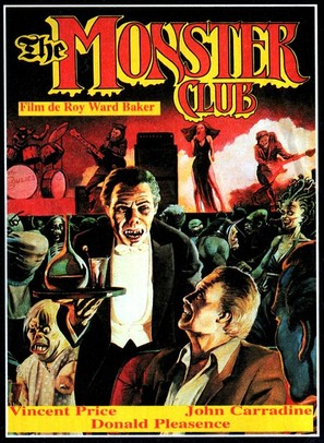 The Monster Club - French Movie Cover (thumbnail)