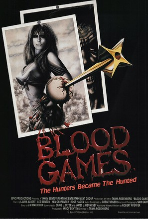 Blood Games - Movie Poster (thumbnail)