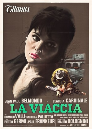 La viaccia - Italian Movie Poster (thumbnail)