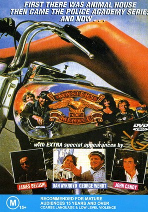 Masters of Menace - Australian DVD movie cover (thumbnail)