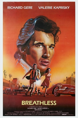 Breathless - Movie Poster (thumbnail)