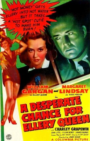 A Desperate Chance for Ellery Queen - Movie Poster (thumbnail)