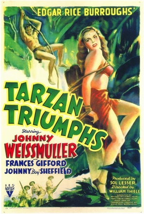 Tarzan Triumphs - Movie Poster (thumbnail)