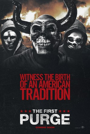 The First Purge - Movie Poster (thumbnail)