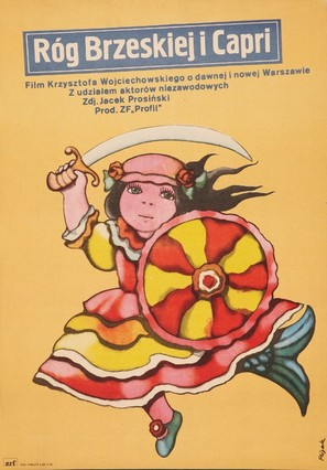 Rog Brzeskiej i Capri - Polish Movie Poster (thumbnail)