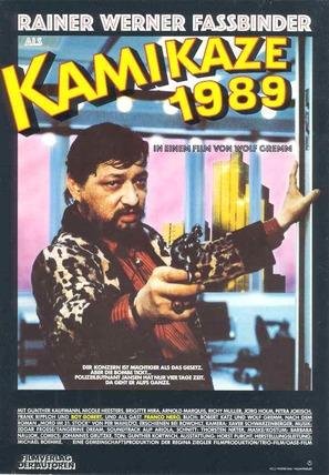 Kamikaze 1989 - German Movie Poster (thumbnail)