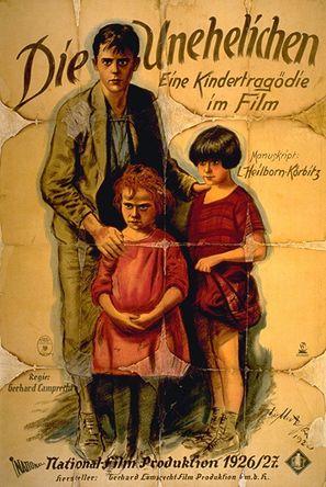 Die Unehelichen - German Movie Poster (thumbnail)