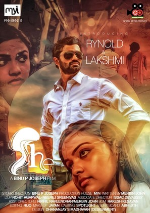 She - Indian Movie Poster (thumbnail)