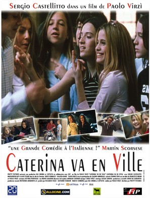 Caterina va in città - French Movie Poster (thumbnail)