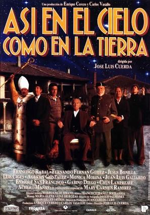 Así en el cielo como en la tierra - Spanish Movie Poster (thumbnail)