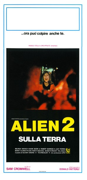 Alien 2 - Sulla terra - Italian Movie Poster (thumbnail)
