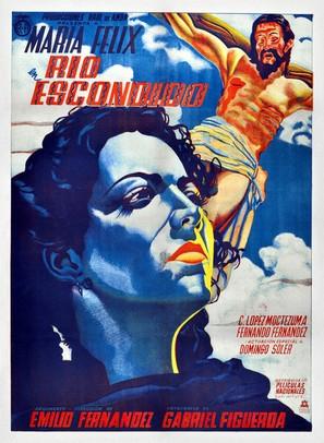 Río Escondido - Mexican Movie Poster (thumbnail)