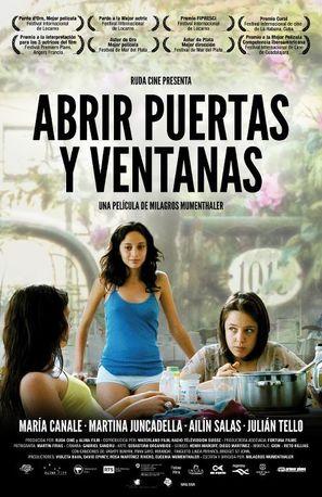 Abrir puertas y ventanas - Argentinian Movie Poster (thumbnail)