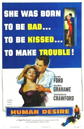 Human Desire - Movie Poster (thumbnail)