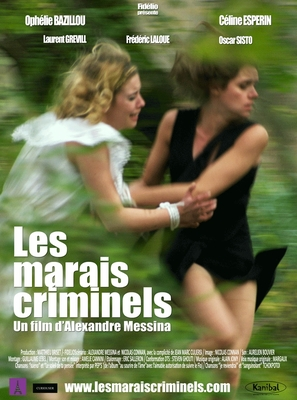 Les marais criminels - French Movie Poster (thumbnail)