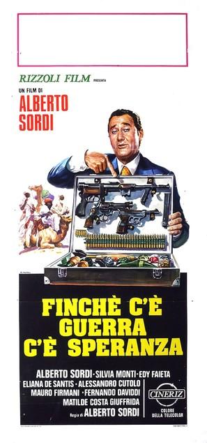 Finché c'è guerra c'è speranza - Italian Movie Poster (thumbnail)