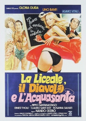 La liceale, il diavolo e l'acquasanta - Italian Theatrical poster (thumbnail)