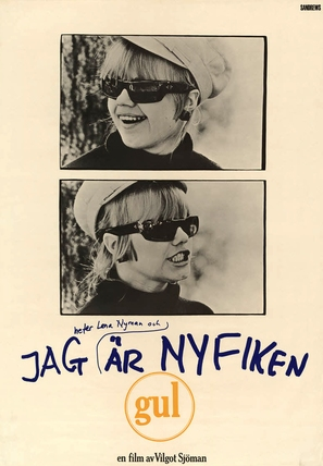 Jag är nyfiken - en film i gult - Swedish Movie Poster (thumbnail)