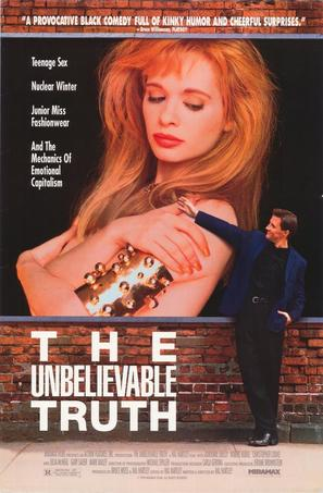 The Unbelievable Truth - Theatrical movie poster (thumbnail)