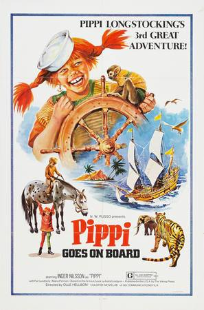 Här kommer Pippi Långstrump - Movie Poster (thumbnail)